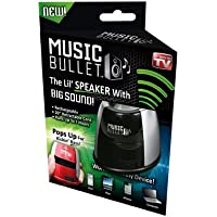 Idea Village Products MUBLT12 Music Bullet Mini Speaker, As Seen on TV - Quantity 6