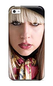 New Arrival Case Specially Design For Iphone 5c (lady Gaga) Sending Screen Protector in Free