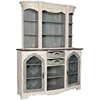 GuildMaster Vaucelles China Cabinet in Cream