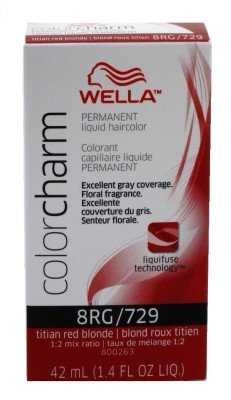 Wella Color Charm Liquid #0729/8Rg Titian Red Blonde by Wella