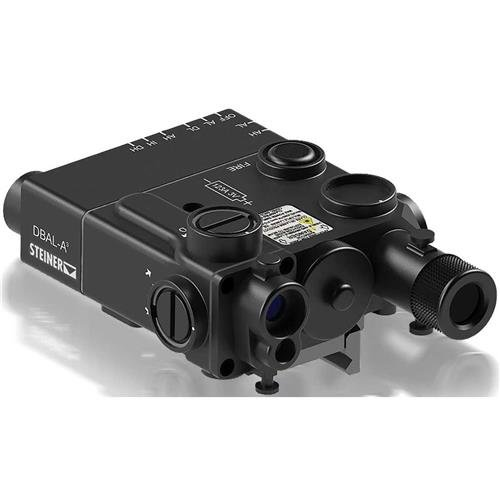 Steiner Model 9008 eOptics Laser Devices Civilian Dual Beam Aiming Laser DBAL-A3, Civilian Legal, Class IIIA, Black