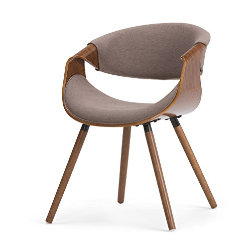 Bentwood Arm (Simpli Home Wayland Bentwood Dining Chair, Mocha Brown)