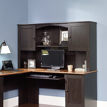 Sauder Harbor View Hutch (does not include desk) in Antiqued Paint by Sauder