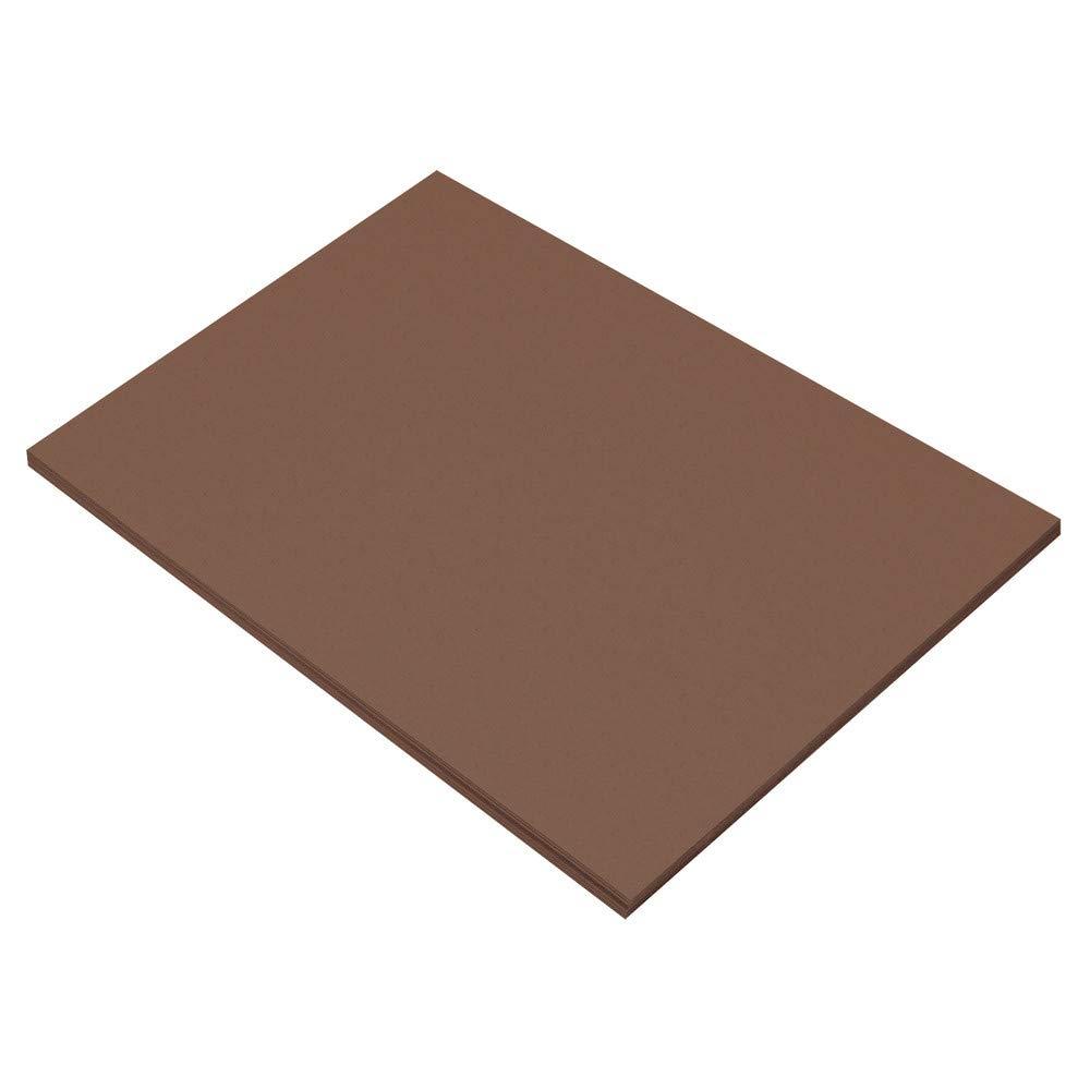 Dark Brown Riverside 3D Construction Paper 12 x 18 50 Sheets