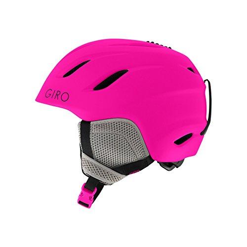 Giro Nine Jr Snow Helmet - Kid's Matte Bright Pink Small Giro Nine Ski Helmet