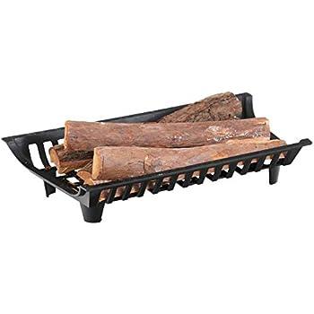 Amazon Com Fireplace Log Grate 24 Inch Wide Heavy Duty Solid Steel