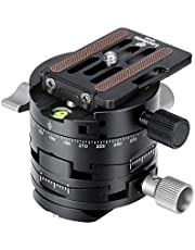Leofoto G2+NP-60 3 in 1 Panorama Geared Ballhead Dual-axis Adjustment+Panorama+3 Directions Controlled Separately Include NP-60 Q-R Plate