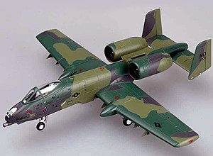 Easy Model 1:72 Scale A-10A Thunderbolt Warthog 906th TFG, 23rd TFW, Iraq 1991 Model Kit by Easymodel