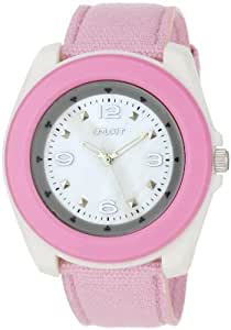 Sprout Women's ST2017MPLP Eco-Friendly Light Pink Organic Cotton Strap Watch