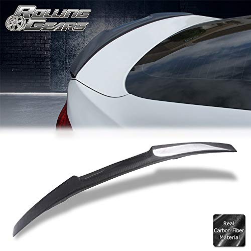 Rolling Gears Real Carbon Fiber Rear Trunk Spoiler Fits BMW F36 4-Series Gran Coupe
