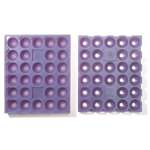 Silicone Sphere Mold 1.5 Inch, 28 Cavities