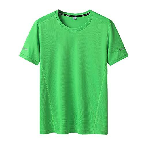Camiseta de Color sólido para Hombre de Manga cortaLos Hombres de la ...