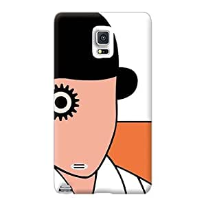Samsung Galaxy Note 4 BTQ5660OfPa Support Personal Customs High-definition A Clockwork Orange Image Shock-Absorbing Hard Cell-phone Case -KimberleyBoyes