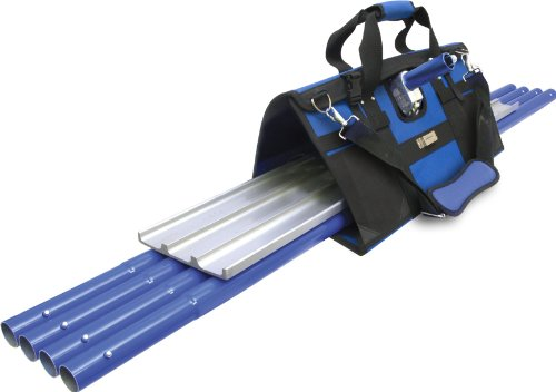MARSHALLTOWN The Premier Line BFKIT7 Finisher's Tote with Square End Float, Rock-It Bracket and QLT Handles
