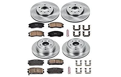 Autospecialty KOE2091 1-Click OE Replacement Brake Kit