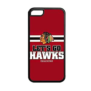 Printing With Chicago Blackhawks 1 Tpu Thin Back Phone Cover For Girly For Apple 5C Iphone Choose Design 2