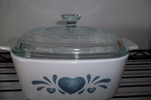 Corning Ware, Blue Heart Casserole Dish 1.5L, A-1.5-B with Lid