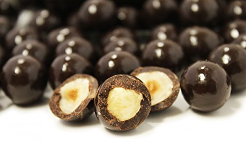 Gourmet Dark Chocolate Covered Hazelnuts by Its Delish, 5 lbs ()