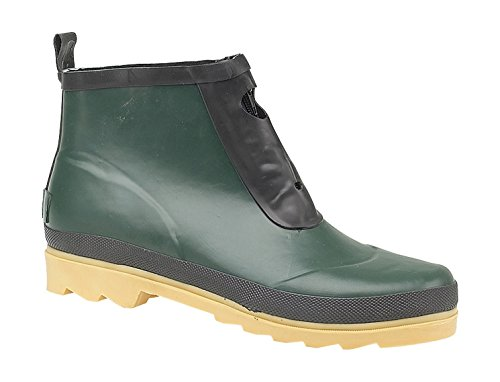 Welly Wye Cotswold Rubber Ladies Wellington Green Green Boot Ankle Zip agaInw5x