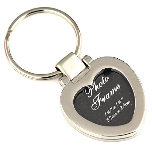 Maycom Photo Frame Keychain Romantic Love Heart