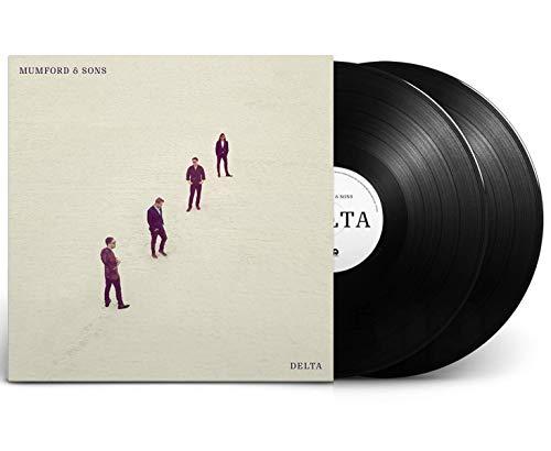 - Mumford & Sons – Delta Exclusive 2X LP Matt Finish Black Vinyl With Mumford & Sons Delta Poster Insert