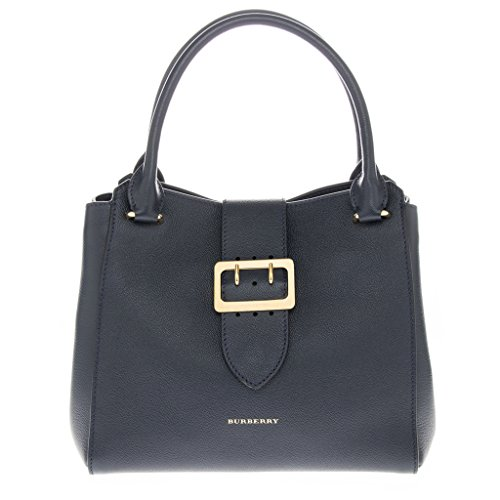 Burberry Women's Medium Buckle Tote Blue