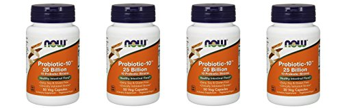 NOW Probiotic-10 25 Billion 200 by NOW Foods