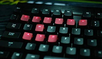 ... PBT OEM Perfil Antideslizante Tapas de Teclas retroiluminadas para Corsair MX Interruptor de Llave Juegos Teclado mecánico Rojo: Amazon.es: Electrónica