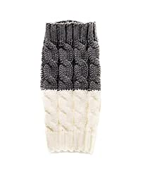 Spring fever Women's Double Sided Knit Boot Socks Topper Cuffs Leg Warmers