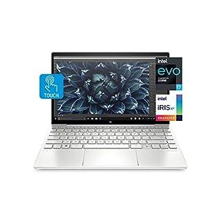 HP Envy 13 Laptop, Intel Core i7-1165G7, 8 GB DDR4 RAM, 256 GB SSD Storage, 13.3-inch FHD Touchscreen Display, Windows 10 Home with Fingerprint Reader, Camera Kill Switch (13-ba1010nr, 2020 Model)
