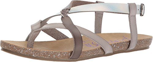 Blowfish Women's Granola-B Ash/Steel Grey Dyecut/Lunar Pisa 8.5 M US M (Ash Grey Footwear)