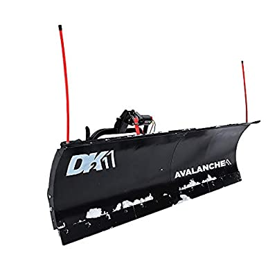 DK2 Avalanche 82 x 19 T-Frame Snow Plow Kit - AVAL8219 from Detail K2