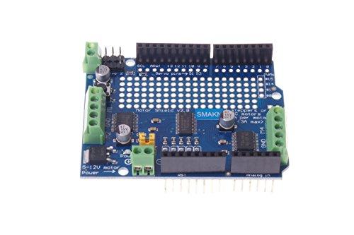 SMAKN® Motor/Stepper/Servo/Robot Shield for Arduino I2C V2 Kit W/ PWM Driver from SMAKN