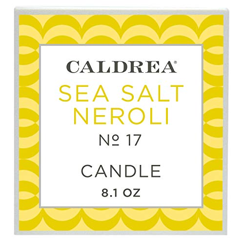 Caldrea Sea Salt Neroli Scented Candle 8.1 oz