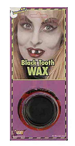 Forum Novelties 13211 Unisex-Adults Makeup Tooth, Black, Standard, Multicolor