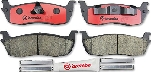 Brembo P24104N Rear Disc Brake Pad (Brembo Lincoln Navigator)