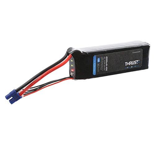 E-flite Thrust VSI 14.8V 4000mAh 40C 4S LiPo Battery: EC3, EFLB40004S40