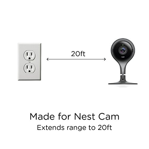 20ft USB Power Cable for Nest Cam or Dropcam