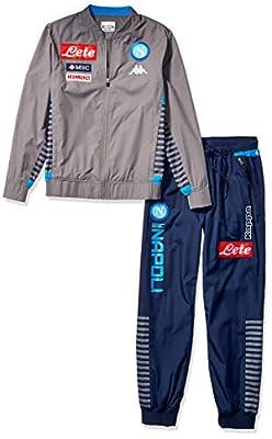 Ssc Napoli Italian Serie A Mens Full Zip Representation Sweatshirt 2019/2020