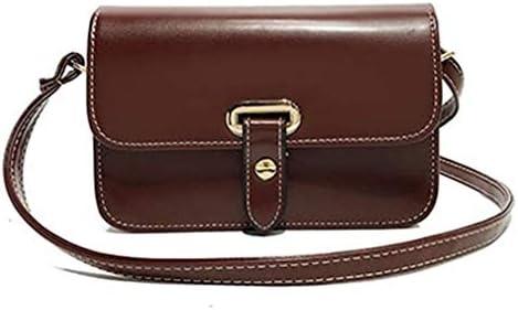 バッグ、新しいファッションベルトスモールスクエアバッグ、ワイルドスモールバッグ、シンプルなレトロショルダーバッグメッセンジャーバッグ、ブラウン、20 * 13 * 7 Cm 美しいファッション