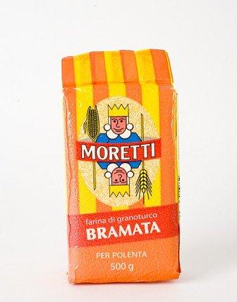 Moretti Bramata Bianca Polenta - Coarse white - 1.1 Pound