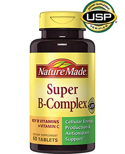 B-complex Tablets Super - Nature Made Super B Complex Tablets, VarietySize Pack of 460 Count
