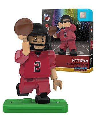 Matt Ryan Oyo Atlanta Falcons Color Rush Generation 4 G4 Mini Figure