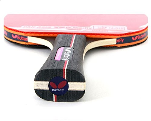 Table Tennis Racket Butterfly Bat Shake Hand Grip Ping Pong Paddles PAN ASIA S10