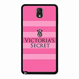 Bling Bling Pink Victoria'S Secret carcasa de telefono Durable Samsung Galaxy Note3 funda de