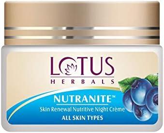 Lotus Herbal Nutranite Skin Renewal Nutritive Night Cream, 50g