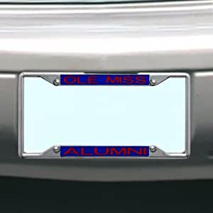 Amazon Com Ncaa Ole Miss Rebels License Plate Frame