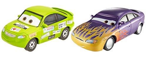Disney Cars Pixar Marilyn & Nick Stickers Die-Cast Vehicle