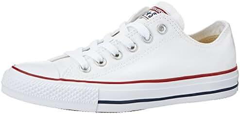 Converse Unisex Chuck Taylor Classic Colors Sneaker (5.5 D(M), Optical White)