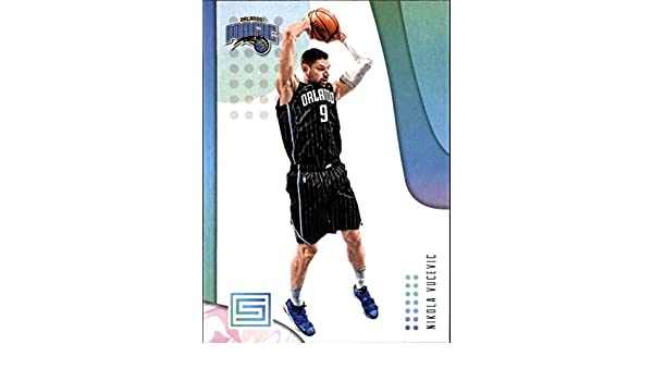 Amazon.com: 2018-19 Panini Status NBA Basketball Card #99 Nikola Vucevic Orlando Magic: Collectibles & Fine Art